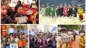 """Nhân dịp kỷ niệm 45 năm thành lập, Vinamilk và Quỹ sữa Vươn Cao Việt Nam khởi động hành trình 2021 với chiến dịch ý nghĩa """"Triệu ly sữa yêu thương, triệu nụ cười hạnh phúc"""""""