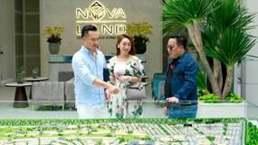 Chi Bảo đáp máy bay tới NovaWorld Phan Thiet
