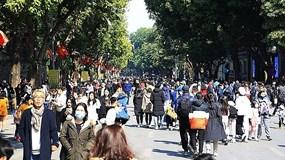 Hà Nội đón hơn 118.000 lượt khách trong dịp Tết Dương lịch 2021