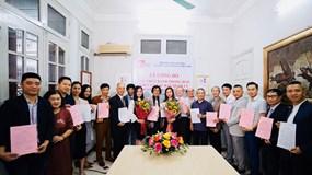 Hiệp hội Thiết kế mẫu và Sáng tạo mỹ thuật Việt Nam công bố các chức danh của Hiệp hội nhiệm kỳ 2018-2023