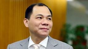 Tỷ phú Phạm Nhật Vượng liên tiếp rút vốn khỏi 2 doanh nghiệp