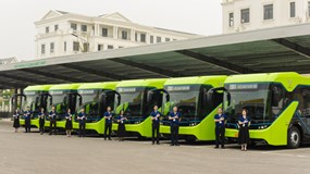 VinBus chính thức khai trương và đưa vào vận hành tuyến xe buýt điện thông minh