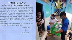 Chủ trọ ở Sài Gòn 'xin' được miễn tiền thuê tháng 7 cho 180 phòng