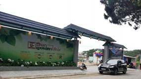 Chủ đầu tư dự án Sun Garden Đà Lạt bị xử phạt 40 triệu đồng vì xây kè không phép