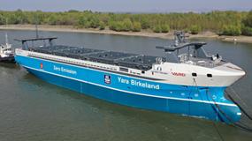 Lịch sử ngành vận tải biển sắp bước sang trang mới: Tàu vận tải chạy điện, không thuỷ thủ đoàn sắp khởi hành chuyến đầu tiên
