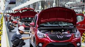 Đề xuất miễn thuế nhập khẩu linh kiện sản xuất 200 ôtô Vinfast xuất khẩu