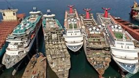 Những hình ảnh cho thấy hệ quả 'thảm khốc' của Covid-19 lên ngành công nghiệp du thuyền