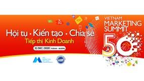 Vietnam Marketing Summit 5.0: 'Tái định hình' giá trị cơ bản vai trò marketing trong kinh doanh