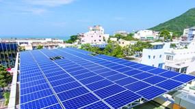 83.000 công trình điện mặt trời mái nhà được đấu nối vào hệ thống điện lưới EVN