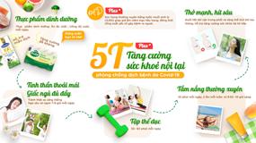 Bạn đã biết 'bí kíp' 5T+ giúp tăng cường sức khỏe cho cả nhà?