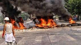 Myanmar: 32 nhà máy có vốn Trung Quốc bị đốt phá, thiệt hại gần 37 triệu USD