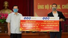 Tập đoàn FLC ủng hộ 3,5 tỉ đồng chung tay cùng Vĩnh Phúc chống dịch Covid-19