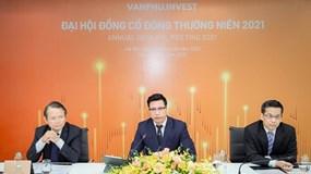 ĐHĐCĐ Văn Phú – Invest: Kế hoạch doanh thu năm nay tăng trưởng 43%