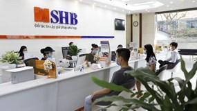 SHB đạt 3.095 tỷ đồng lợi nhuận, tăng 86,5% so với cùng kỳ và hoàn thành hơn 50% kế hoạch năm