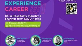 Kinh nghiệm của SOJO Hotels trong Thiết kế và Quản trị trải nghiệm khách hàng