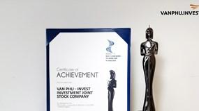 """Văn Phú - Invest được vinh danh giải thưởng """"Nơi làm việc tốt nhất châu Á"""""""