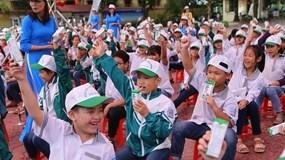 """Tỉnh Hà Nam phát động chương trình """"Sữa học đường"""" năm học 2020-2021"""