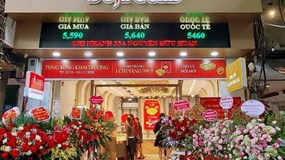 Khai trương Trung tâm DOJI Gold đầu tiên tại Hà Nội