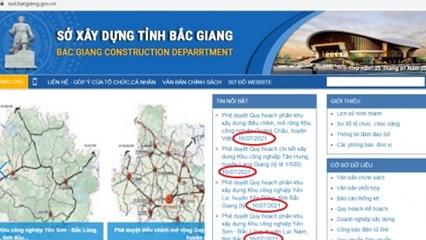 Bắc Giang công bố phê duyệt quy hoạch loạt khu công nghiệp gần 800ha trong 1 ngày