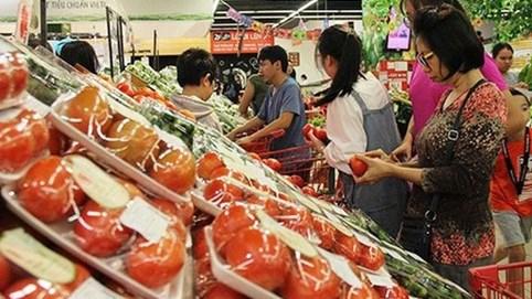 Chỉ số giá tiêu dùng tháng 2-2021 tăng nhẹ