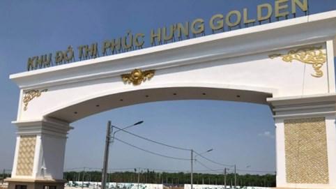 Bình Phước: 60 căn nhà tại Khu đô thị Phúc Hưng Golden xây không phép