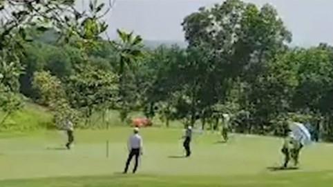 Hà Nội: Bất chấp lệnh cấm, sân golf Sky Lake vẫn ngang nhiên hoạt động giữa mùa dịch
