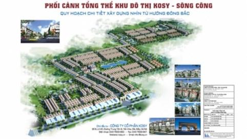 Thanh tra Chính phủ kết luận nhiều sai phạm tại dự án Kosy Sông Công của Tập đoàn Kosy