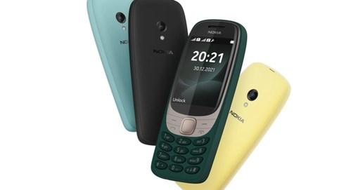 """Bạn còn nhớ Nokia 6310? Chiếc di động cục gạch này vừa được """"hồi sinh"""" với phiên bản 2021"""
