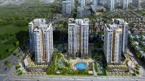 Giá chung cư ven đô Hà Nội chạm 60 triệu đồng một m2