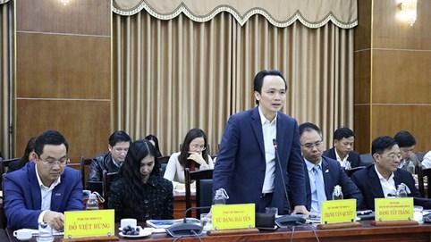 Làm việc với lãnh đạo tỉnh Quảng Trị, tỷ phú Trịnh Văn Quyết khẳng định FLC không làm chậm, không làm lâu
