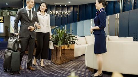 SHB First Club Nội Bài – Phòng chờ sân bay mạ vàng 24Kđầu tiên được ra mắt