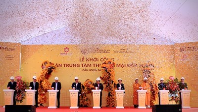 T&T Group khởi công xây dựng trung tâm thương mại hiện đại tại Đắk Nông