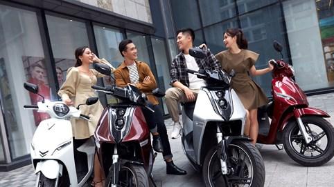 Xe máy điện VinFast - 'trang sức' mới thể hiện cá tính giới trẻ