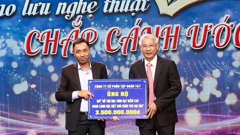 T&T Group hỗ trợ 3,5 tỷ đồng giúp học sinh nghèo học giỏi của tỉnh Hà Tĩnh vào đại học
