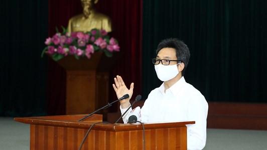 Phó Thủ tướng Vũ Đức Đam: Việt Nam đang là một trong những nước chống dịch tốt nhất thế giới