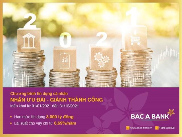 Nhận ưu đãi tín dụng từ BAC A BANK, Khách hàng sẵn sàng đón thành công - Ảnh 1