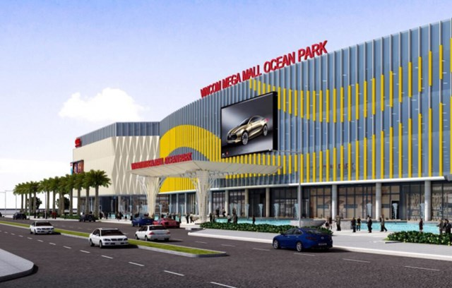 Phối cảnh Vincom Mega Mall Ocean Park.