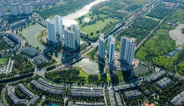 Tổ hợp căn hộ chung cư Aqua Bay tại EcoPark.
