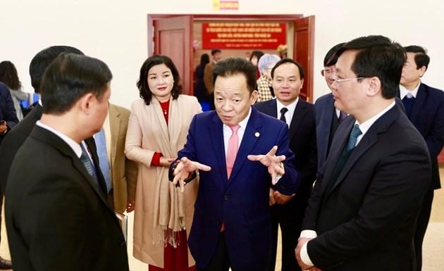 Ông Đỗ Quang Hiển - Chủ tịch HĐQT kiêm Tổng Giám đốc Tập đoàn T&T Group cho biết, T&T Group rất mong muốn quy hoạch bảo tồn, tôn tạo và phát huy giá trị Khu di tích Chủ tịch Hồ Chí Minh sẽ sớm được triển khai và đi vào thực tế