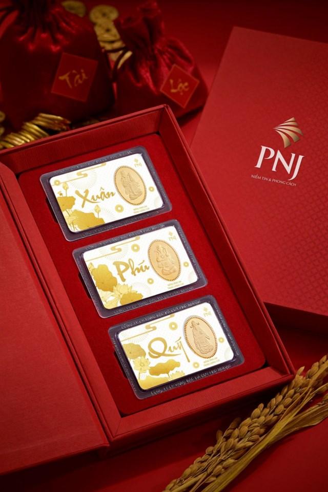 """Bộ sản phẩm """"limited"""" của PNJ. (Ảnh PNJ)."""
