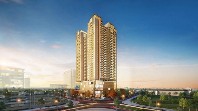 Tòa tháp căn hộ BRG Diamond Residence đang thu hút sự quan tâm của người Hà Nội và giới đầu tư sành sỏi