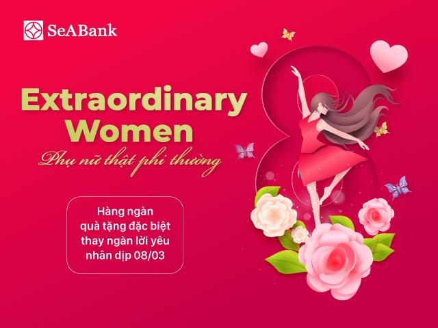 SeABank tri ân phụ nữ nhân ngày 8/3 - Ảnh 1