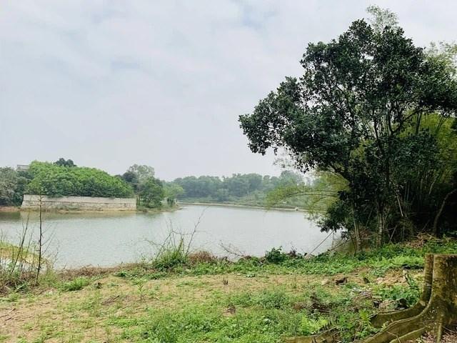 Một lô đất ven hồ tại xã Nam Phương Tiến huyện Chương Mỹ đang được rao bán với giá lên đến gần 4 triệu đồng/m2.