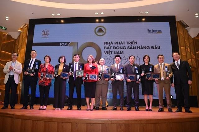 Đại diện Top 10 nhà phát triển bất động sản hàng đầu Việt Nam.