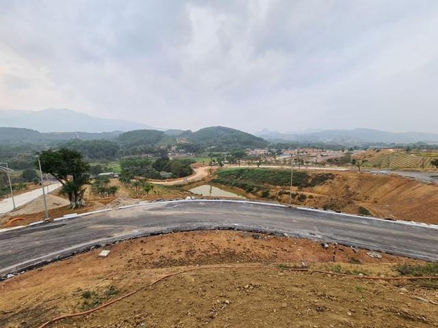 Dự án Legacy Hill Hòa Bình được chào bán rầm rộ trong khi hạ tầng còn dở dang