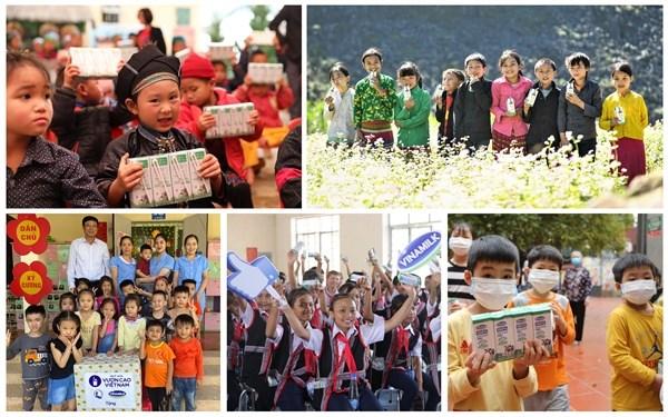 """Nhân dịp kỷ niệm 45 năm thành lập, Vinamilk và Quỹ sữa Vươn Cao Việt Nam khởi động hành trình 2021 với chiến dịch ý nghĩa """"Triệu ly sữa yêu thương, triệu nụ cười hạnh phúc"""" - Ảnh 2"""
