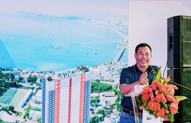 Ông Lê Văn Dũng, Tổng giám đốc Công ty TNHH Cat Tiger Khareal, chủ đầu tư dự án chung cư Napoleon Castle