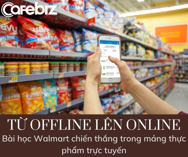 Chủ tịch Masan với quan điểm 'Không phải cứ đưa hộp sữa lên kệ là kinh doanh online' và bài học Walmart đánh bại Amazon trong mảng thực phẩm trực tuyến - Ảnh 3