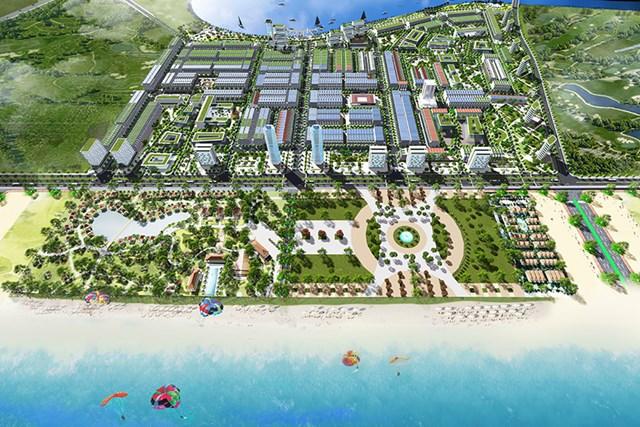 Dự án Khu đô thị Ocean Park Vân Đồn do Công ty Quan Minh làm chủ đầu tư đang bị MB siết nợ