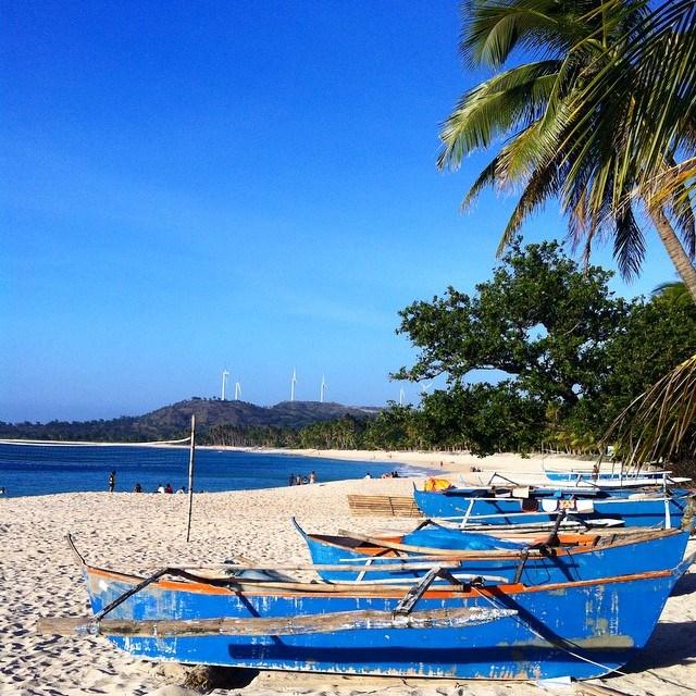 Bãi biển Saud ở Philippines. Ảnh: @rxpt2002.
